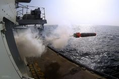 A Stingray Training Variant Torpedo is fired from Type 23 frigate HMS Westminster during an exercise.After spending much of her 7 month deployment in the Gulf and Indian Ocean region conducting maritime security operations in support of the UK's long standing commitment in the area, Royal Navy warship HMS Westminster took some time out to undertake valuable training.