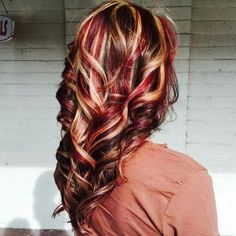 This is the one I want Pretty Hair Color, Beautiful Red Hair, Hair Color And Cut, Love Hair, Grey Balayage, Red Blonde Hair, Hair Color Highlights, Up Girl, Fall Hair