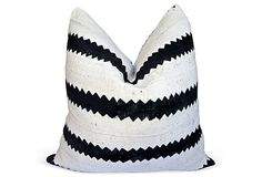 African Tribal Mud Cloth & Linen Pillow | Finishing Touches | One Kings Lane