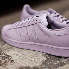 Adidas Supercolor MAUTIN B32713 Light Lilac Sizes US 4 to 8 Superstar Pharrell