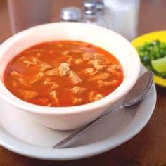 Authentic Mexican MenudoYou can find Menudo recipe authentic and more on our website. Beef Recipes, Mexican Food Recipes, Cooking Recipes, Ethnic Recipes, Yummy Recipes, Chicken Recipes, Recipies, Authentic Mexican Menudo Recipe, Menudo Recipe Easy