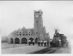 shawnee oklahoma historical images | ... , Topeka & Santa Fe Railway Company depot, Shawnee, Oklahoma - Page
