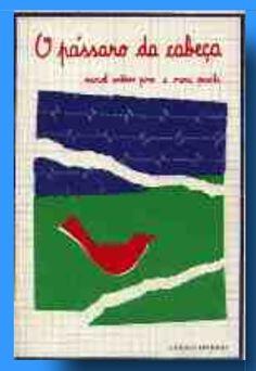 http://195.23.38.178/casadaleitura/portalbeta/bo/portal.pl?pag=sol_la_fichaLivro&id=149 ----------Recensão - Casa da leitura-----------------O Pássaro da Cabeça |, Maria Priscila (Ilustrador) | A Regra do Jogo | Local Porto | Data de edição 1983 |--------------«    Livro singular no seu género em Portugal, O Pássaro da Cabeça guarda um conjunto de dez belos poemas coordenados por um processo de titulação simples: o título de um dos textos dá o nome à colectânea.  (...)».  Sara Reis da…