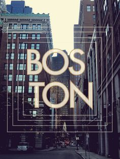 Boston, MA by Priscilla V Gonzalez - would be gorgeous printed and framed above my couch or on my gallery wall