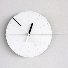 Hundreds Tens Units Wall Clock