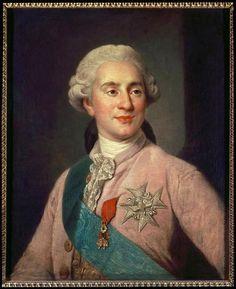 Louis XVI, Roi de France (copie d'après J.S. Duplessis)