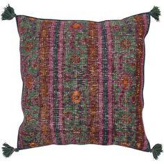 Surya Throw Pillow Color: