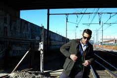"Look ""Vie souterraine"" #look #blog #mode #cardigan #cachemire #hircus #veste #bensherman #fashion #fashionformen #mensfashion #coat #rails #train"
