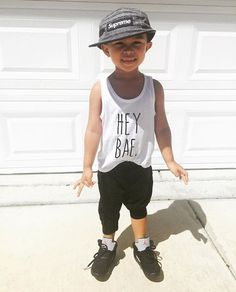 Hey Bae Tee Toddler t-shirt Infant shirt tank by LovelyLittlesShop