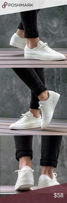 Nike match classic A clean and classic silhouette from sporting giants Nike, the Match Classic Premium sees textured leather uppers decorated specifically for Women. No box. Nike Shoes Sneakers