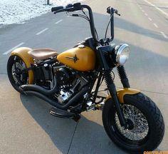 Custom Harley Fat Boy
