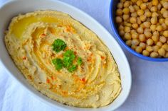 crustycorner: Jednoduchý a hladký Hummus