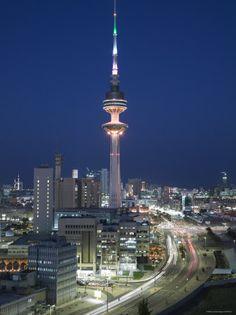 Bibikow Walter Liberation Tower. Kuwait City, Kuwait