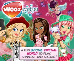 Woozworld: a fun social virtual world to play, connect, and create! <3