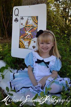 Alice In Wonderland Inspired Photography  Disney Princess