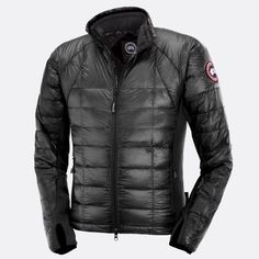 Canadian Icons - Canada Goose Men's Hybridge Lite Jacket, Graphite in size Large