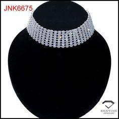 2015 trendy design rinestone choker necklace