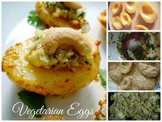 Authentic Food Delights: Vegetarian Eggs