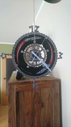 DIY Bicycle Uhr Diy Clock