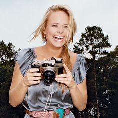 A smiling Miranda Lambert