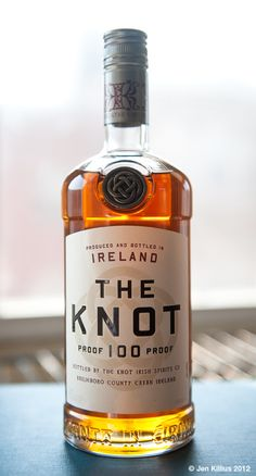 Stranger & Stranger's bottle for The Knot whisky featured in I am not a Chef
