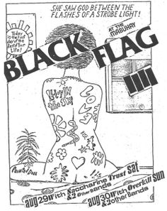 """""""pettibon-e:  She saw god between the flashes of a strobe light!   """""""