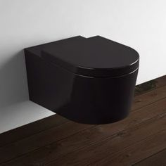 Wc suspendu orba blanc abattant wc suspendu pinterest - Toilette noir suspendu ...