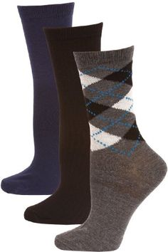 Steve Madden Argyle and Solid Women's Dress Socks « ShoeAdd.com – More Shoes For You Every Day