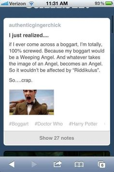 ACK!  Oh the things Potter-Whovians think of.
