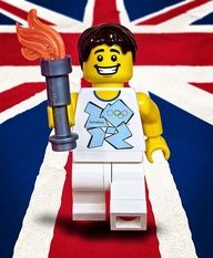 #Lego #Minifigure UK Olympic Team