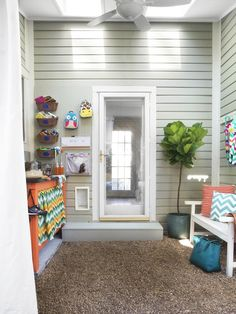 Family-Friendly Mudroom Makeover