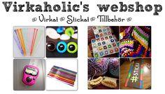 Virkaholic's Webshop Art Supplies, Shop, Store