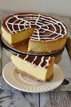 #thermomix #halloween Sernik dyniowy Tiramisu, Cheesecake, Sweets, Cooking, Ethnic Recipes, Food, Halloween, Brioche Bread, Brioche