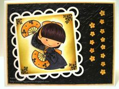 Sister Stamps - See www.HankoDesigns.com for Sister Stamp images and Japanese washi paper.