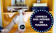 Como limpar os Móveis de Madeira- MDF Laminados e Laca