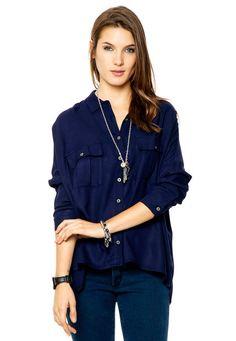 Camisa Azul Inedita