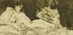 Buy online, view images and see past prices for Edouard Manet. Paris, with Olympia etching by Manet. Invaluable is the world's largest marketplace for art, antiques, and collectibles. Yale School Of Art, Art Gallery, Edouard Manet, Traditional Paintings, Gravure, Les Oeuvres, Art Museum, Printmaking, Fine Art