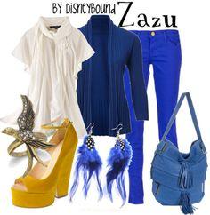 disneybound: Zazu
