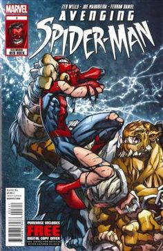 Avenging Spider-Man #3 Zeb Wells Joe Madureira---> shipping is $0.01 !!!