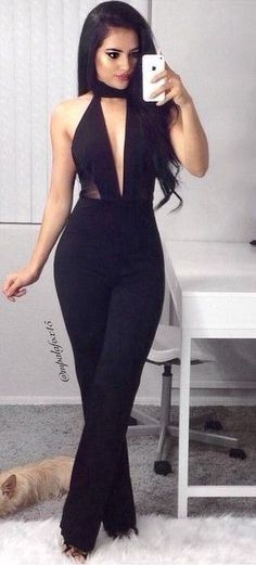 jumpsuits-for-women - Womens Fashion 1 Sexy Outfits, Casual Outfits, Cute Outfits, Fashion Outfits, Womens Fashion, Jumpsuit Elegante, Mode Style, Mannequins, Jumpsuits For Women