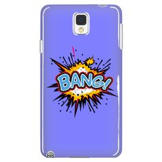BANG! Galaxy Note 3 cell phone case (Blue)