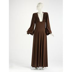 Evening dress   Biba   V&A Search the Collections