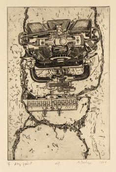 Sir Eduardo Paolozzi 'Head', 1979 © The Eduardo Paolozzi Foundation Jasper Johns, Roy Lichtenstein, Peter Blake, Robert Rauschenberg, David Hockney, Andy Warhol, Richard Hamilton, Eduardo Paolozzi, James Rosenquist