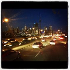 Toronto skyline, just in time. Toronto Skyline, Seattle Skyline, Toronto Travel, Make New Friends, Road Trip, Canada, Road Trips
