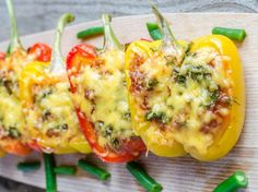Read our delicious recipe for Spicy Stuffed Capsicum, a recipe from The Healthy Mummy, which is a safe and yummy way to lose weight.