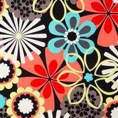 Flower Shower Cotton Calico Fabric