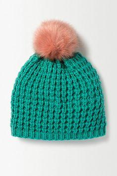 Pom-Pom Knit Beanie - anthropologie.eu