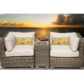 Found it at AllModern - Cape Cod 3 Piece Deep Seating Group with Cushion