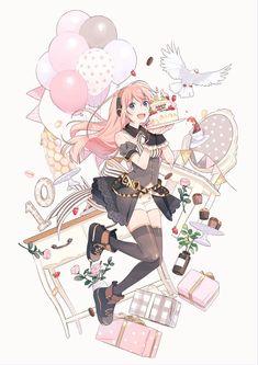 Hatsune Miku, Humour Geek, Otaku, Kaai Yuki, Vocaloid Characters, Kagamine Rin And Len, Mikuo, Anime Group, Neon Genesis Evangelion
