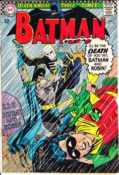 Batman 180, Mr Death, DC Comics, Robin comic book, The Boy Wonder, Silver Age from 1966 in VG (4.0)